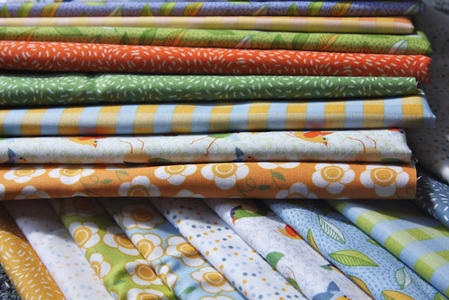 Connecting Threads fabrics by Virginia Odien | by Spoonflower Fabrics
