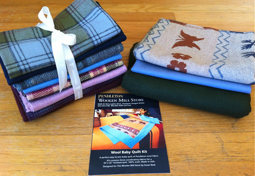 win this Pendleton wool FQ set + quilt kit! | by susanstars