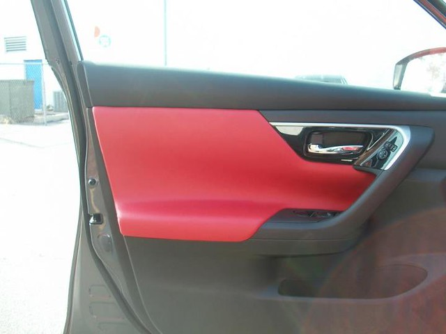 Superior Auto Restyling Chrome Grills Custom Leather Interiors Paint Protective Film Red