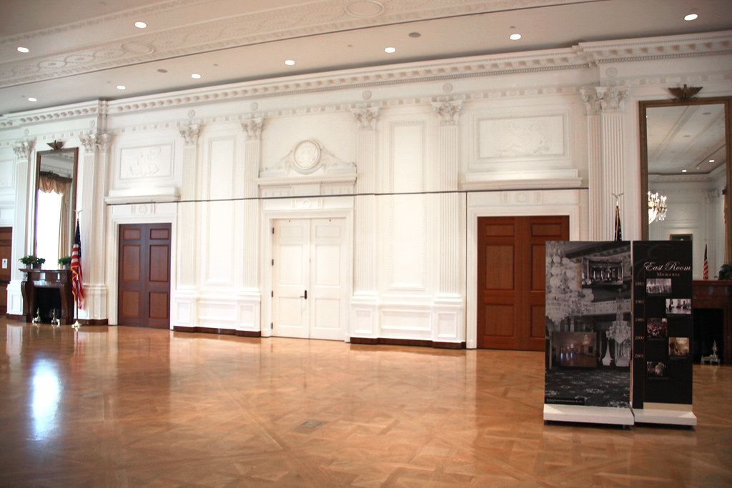 Looking West East Room Replica Richard Nixon President