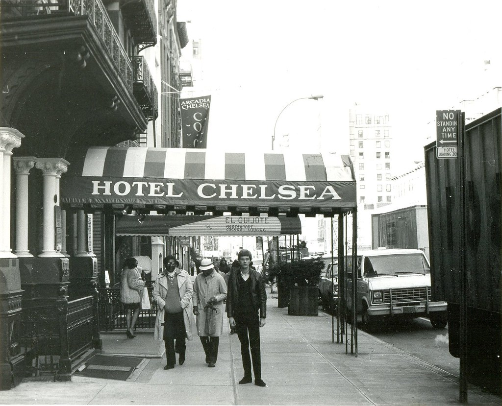 chelsea hotel new york 1983 photo by paul wright a. Black Bedroom Furniture Sets. Home Design Ideas
