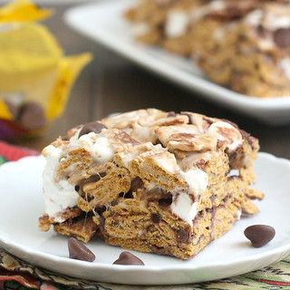 Golden Graham S'mores Squares | by Tracey's Culinary Adventures