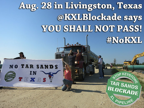 YouShallNotPass | by Tar Sands Blockade