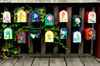 Colourful Mailboxes | by nobettertimethannow