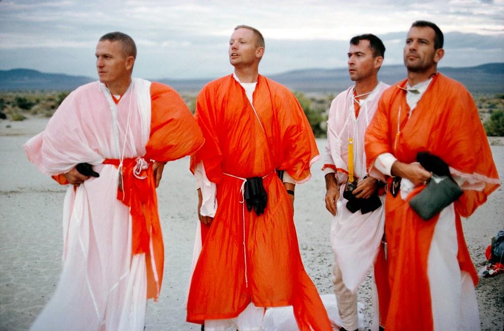 desert survival training description astronauts frank