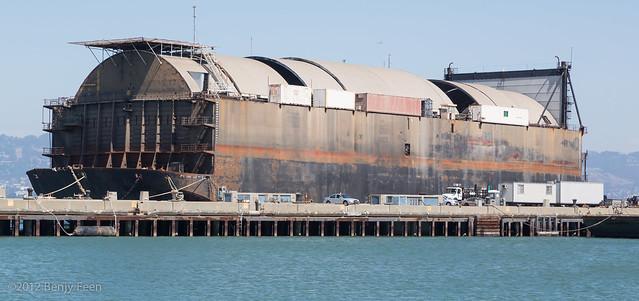 hughes mining barge