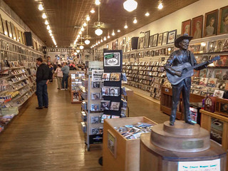 Ernest Tubb Record Shop (est. 1947), interior #7, 417 Broadway, Downtown, Nashville, TN, USA | by lumierefl