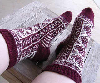 Fireweed Socks finished3 | by nbgriz