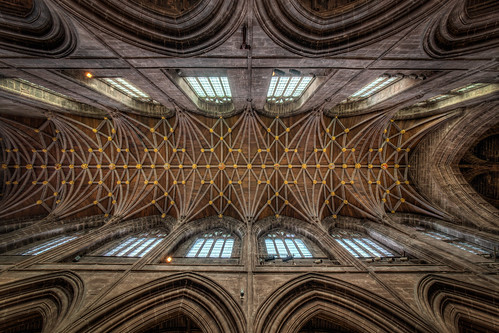 Chester Cathedral - The Nave Ceiling | by Mark Carline