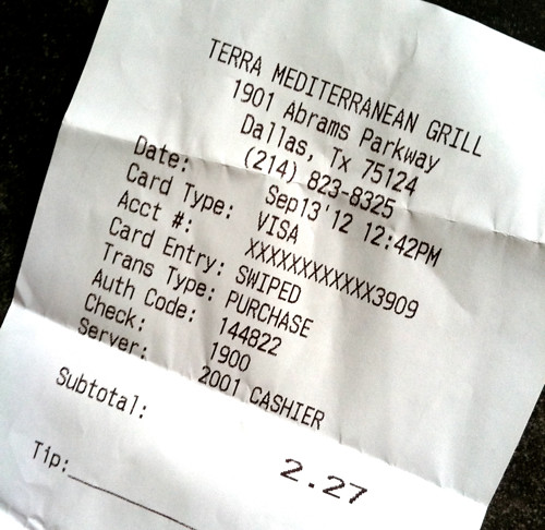 05 receipt | by Stephanie M. Casey
