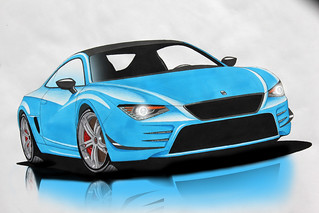 Step 7 Seat Sportscar Photoshop | by NoortPhotography