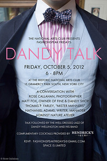 DANDYTALK_Invite_Oct5_final2 | by rosecallahan