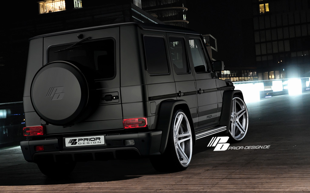 Mercedes benz g class w463 wide body aerodynamic kit pri for Mercedes benz g wagon 2012