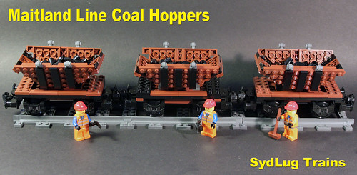 Maitland coal cars for the AMRA build | by I Scream Clone