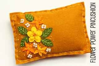 Flower Power Pincushion | by twinfibers