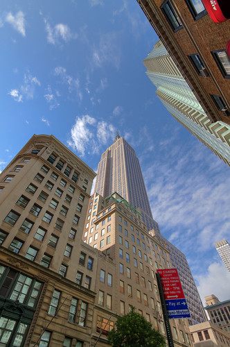 Looking Up at the Empire State Building | by rnakama_photos