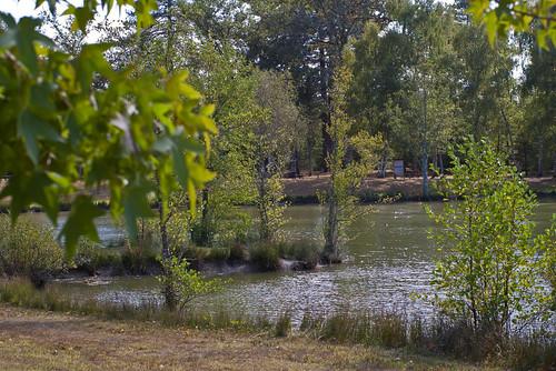 Etang Communal Loir Et Cher Acces Camping Car