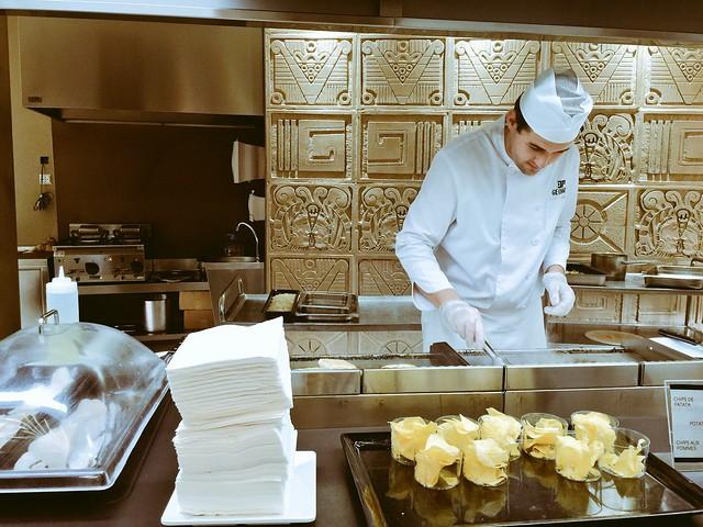 Buffet restaurante del Hotel Don Pancho (Benidorm)