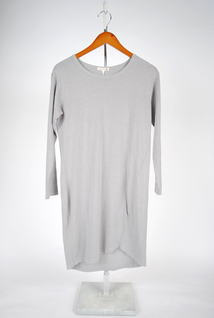Long-Sleeve Asymmetrical Dress