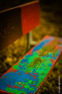 Benches can be scary | by lpvisuals.com