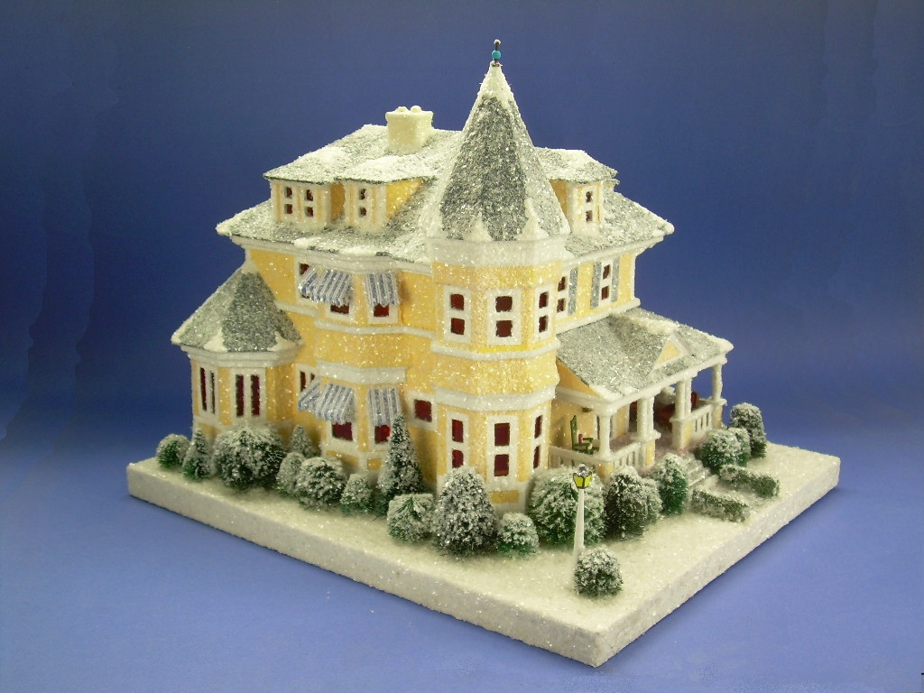 Giant Victorian putz house created by Howard Lamey   Flickr