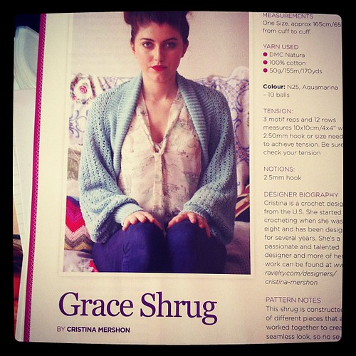 I want to crochet this shrug from Inside Crochet Aug '12 | by ♥t☼veb♥