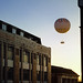 """""""The balloon seems to stand still in the air while the earth flies past underneath."""""""