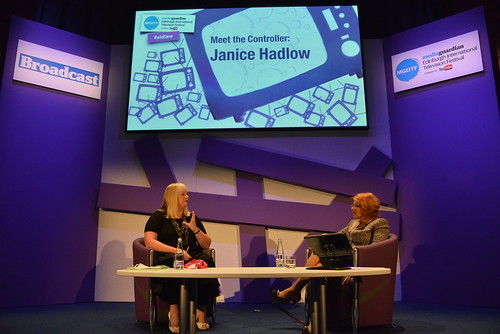 Meet the Controller: Janice Hadlow  / MGEITF 2012 | by Guardian Edinburgh International Television Fest