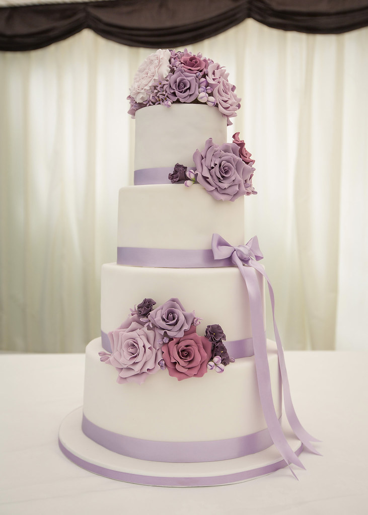 Lilac Wedding Cake On June 20th Of This Year I Got