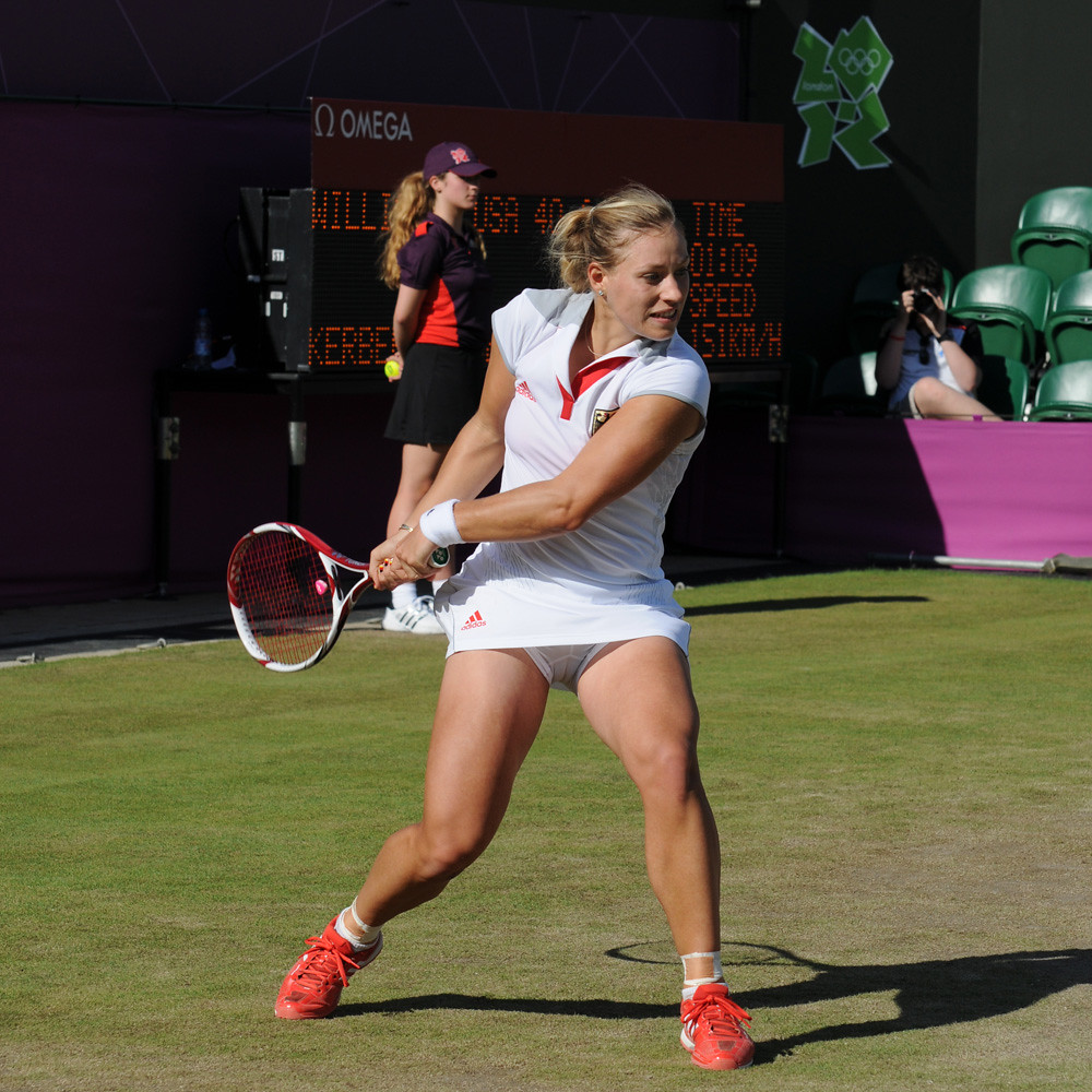 London 2012 - Angelique Kerber | Flickr - Photo Sharing!