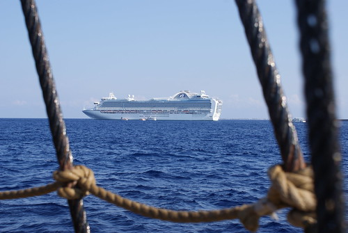 The ruby princess from a pirate ship, Grand Caymen '09 | by stevenbane83