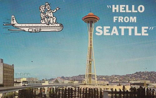 HELLO From SEATTLE! postcard | by hmdavid