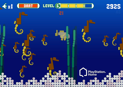 Intellivision in PlayStation Home: Shark Shark | by PlayStation.Blog