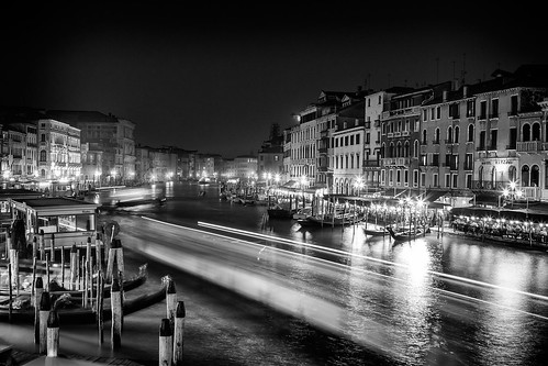 Canale Grande, seen View from the Rialto Bridge, Venice, Italy | by Michael Mehl