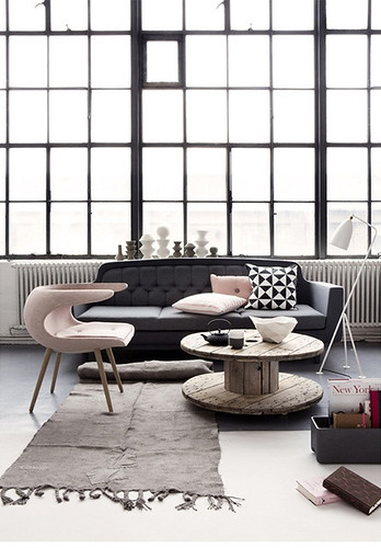 grey & pink | by the style files
