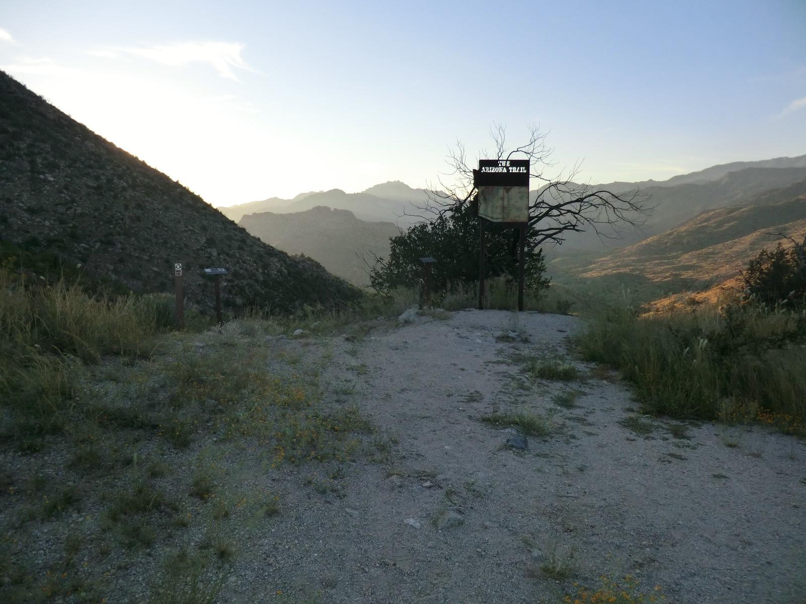 1209 Arizona Trail Sign