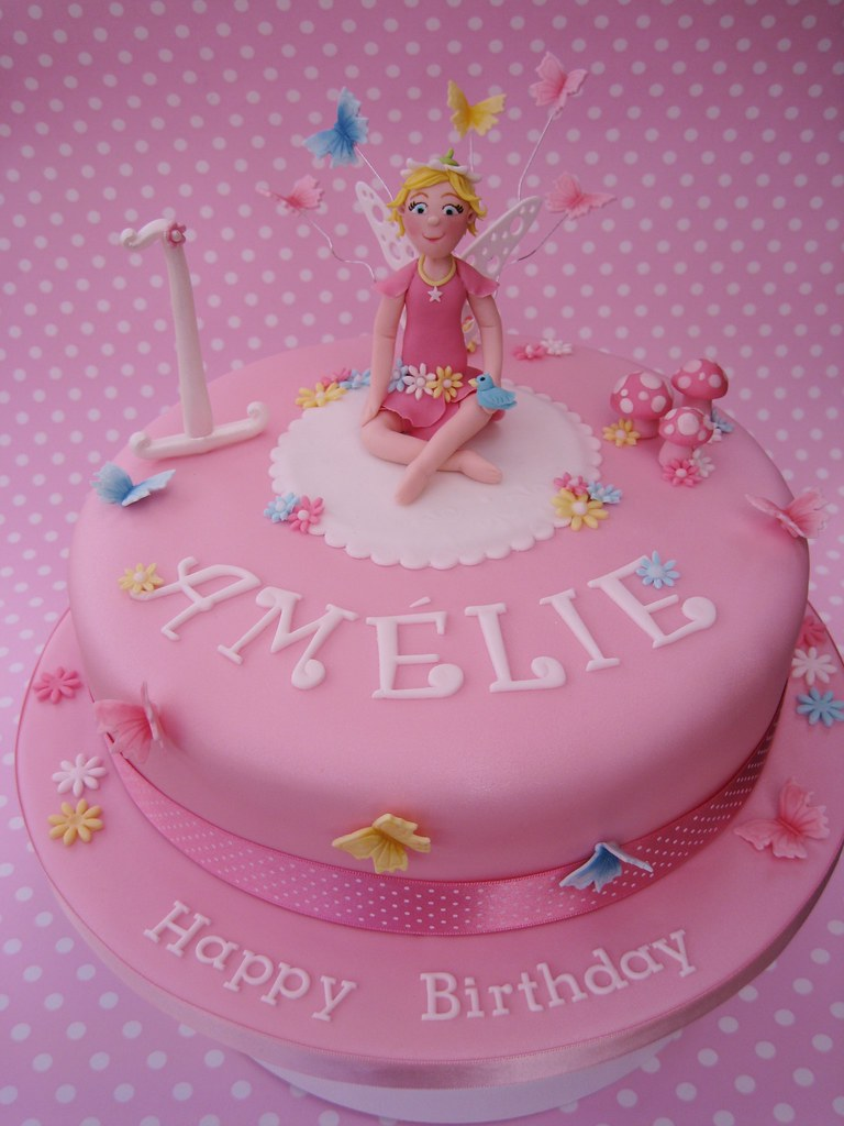 Fairy Birthday Cake 1st Birthday Cake Similar To One Of