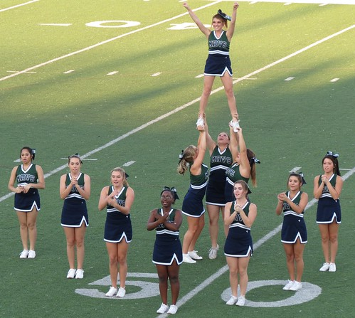 McNeil Maverick cheerleaders | by Bryan - oz4caster