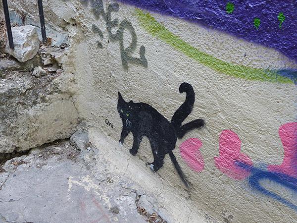 encore un chat peint