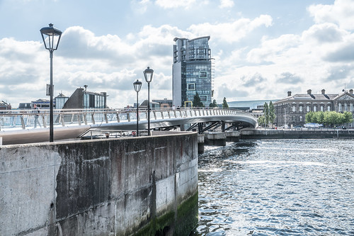 The New £5m Lagan Weir Footbridge In Belfast City [I Like It]-121092 | by infomatique
