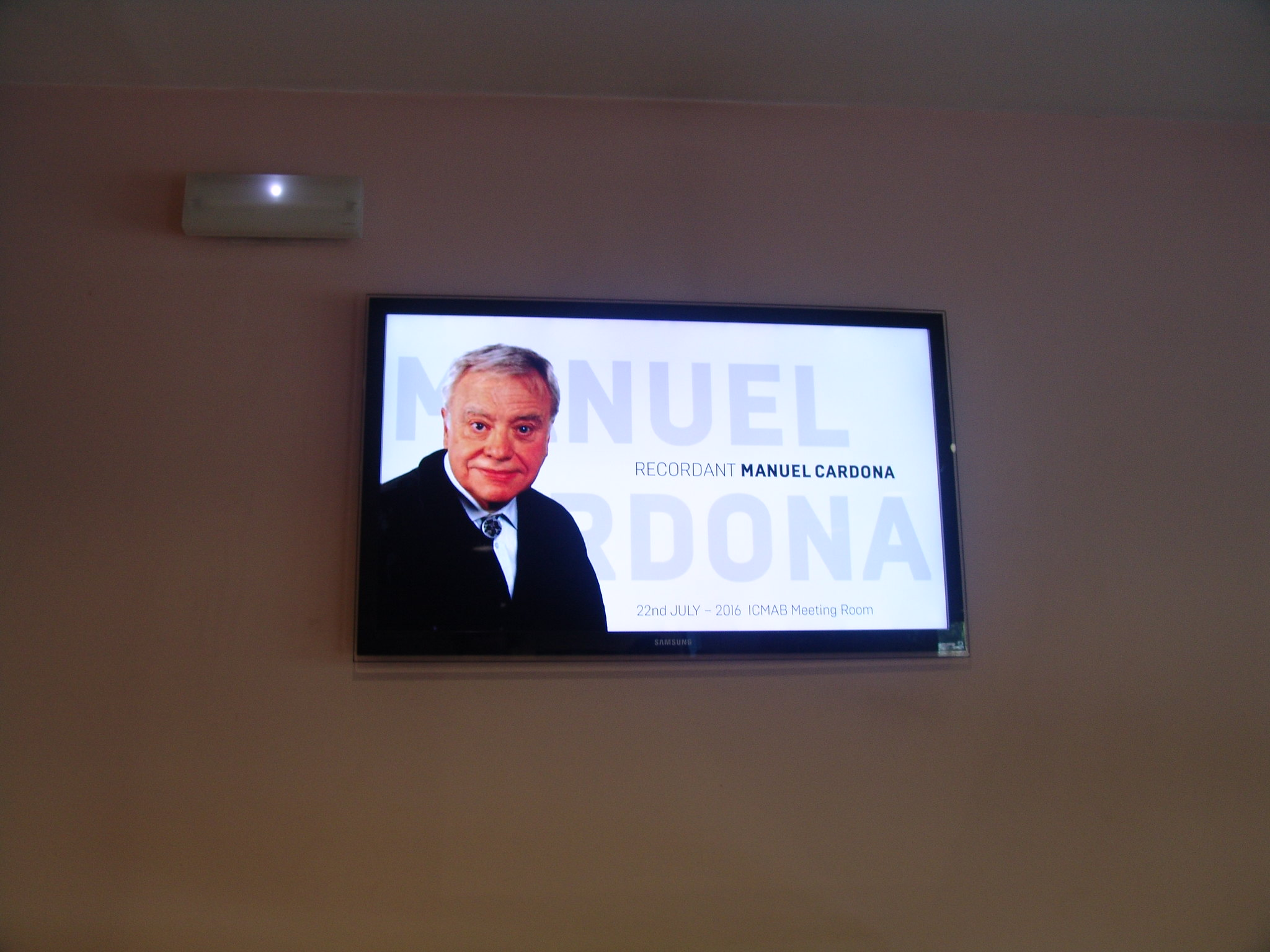RECORDANT MANUEL CARDONA