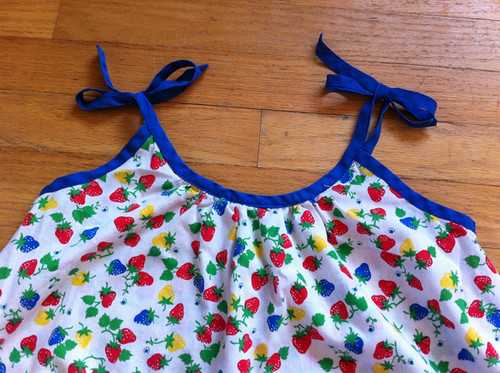 the sundress my grandmother made me | by susanstars