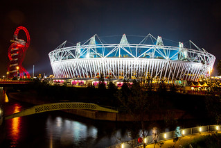 Olympic Stadium at night | by Lyle McCalmont