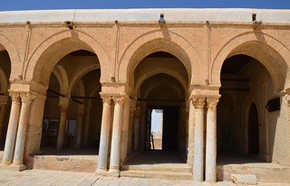 Kairouan, Great Mosque, western portico | by Prof. Mortel