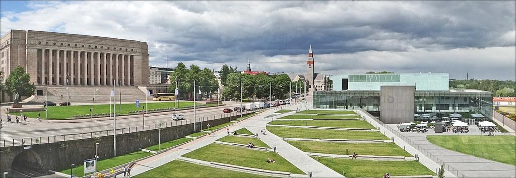 T l nlahti helsinki le parlement gauche le mus e for Architecte 3d wikipedia