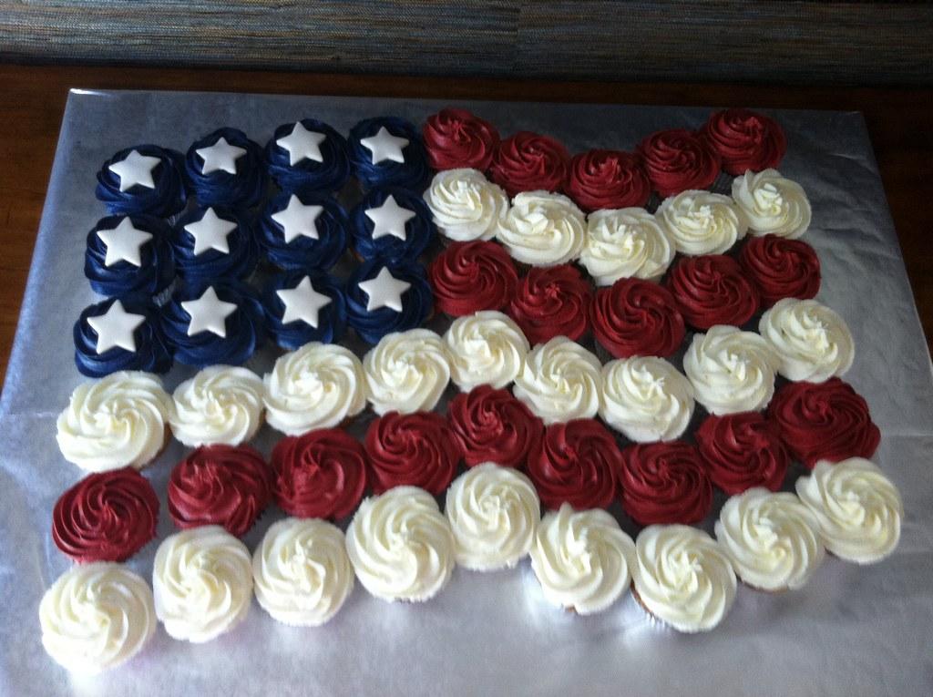 Labor Day Cake Decorations