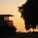 Kits Beach House at Sunset
