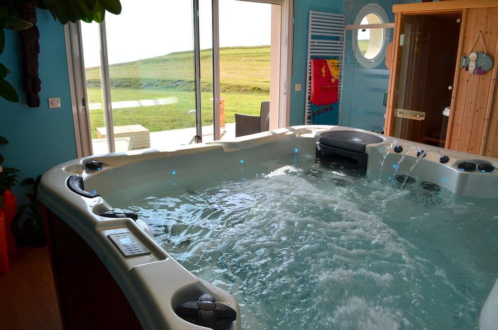 Spa sauna vue sur mer juillet 2012 chambres d 39 h tes - Chambre d hote normandie vue sur mer ...