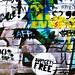 Street art wall 100% brick