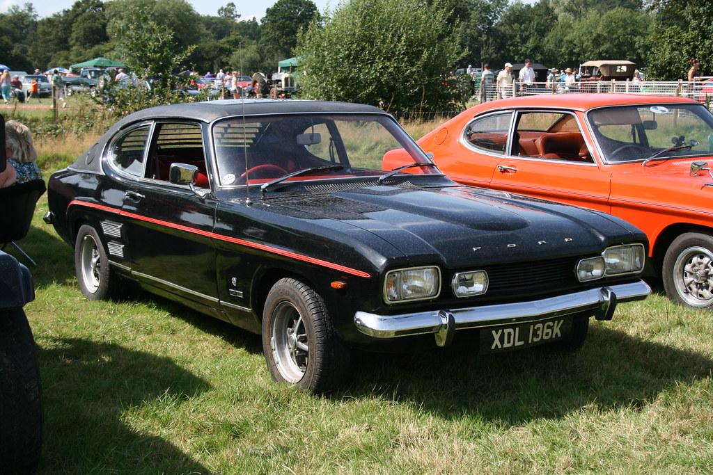 1972 Ford Capri 2000 Gt Xlr Cranleigh Lions Classic Car